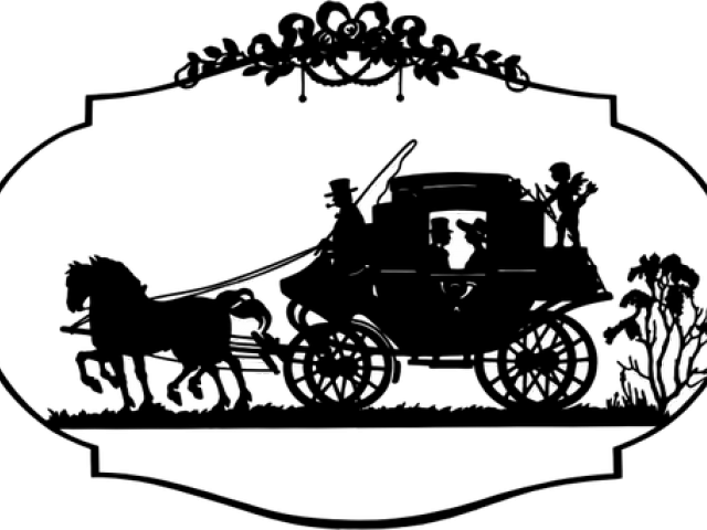 png black and white download Carts clipart calesa. Horse drawn carriage free