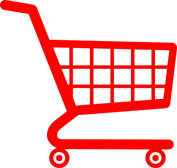 clip freeuse stock Shopping Cart Clip Art at Clker