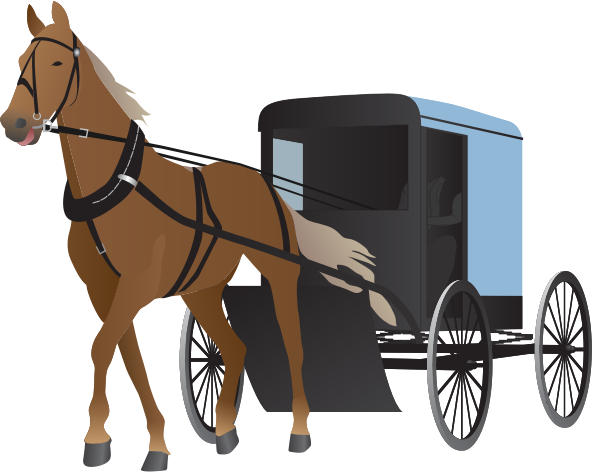 image transparent library horse and buggy clipart horse cart vector vector clip art