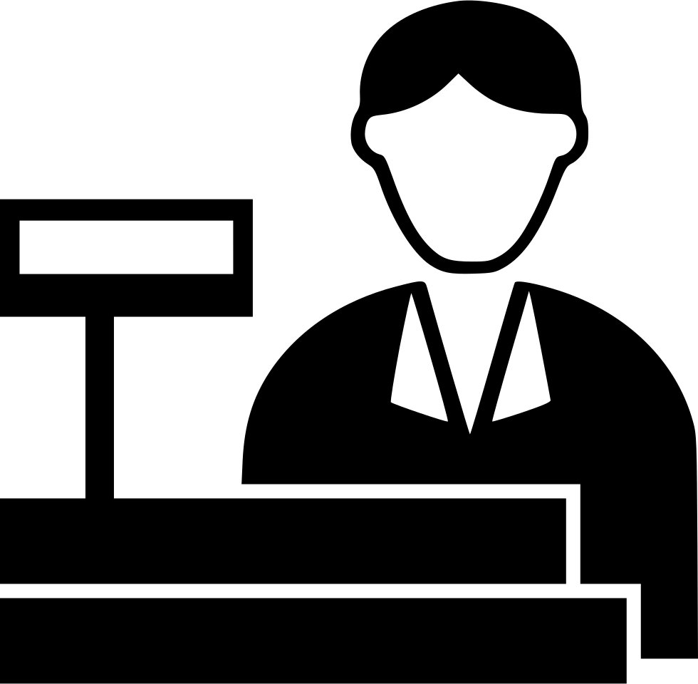 picture freeuse library Cashier Svg Png Icon Free Download