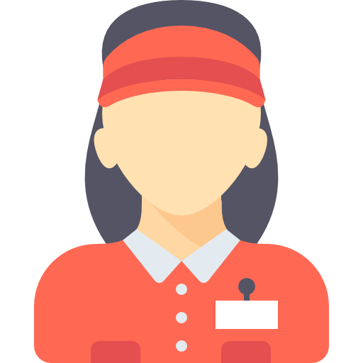 png Supermarket clipart cashier. People woman job occupation