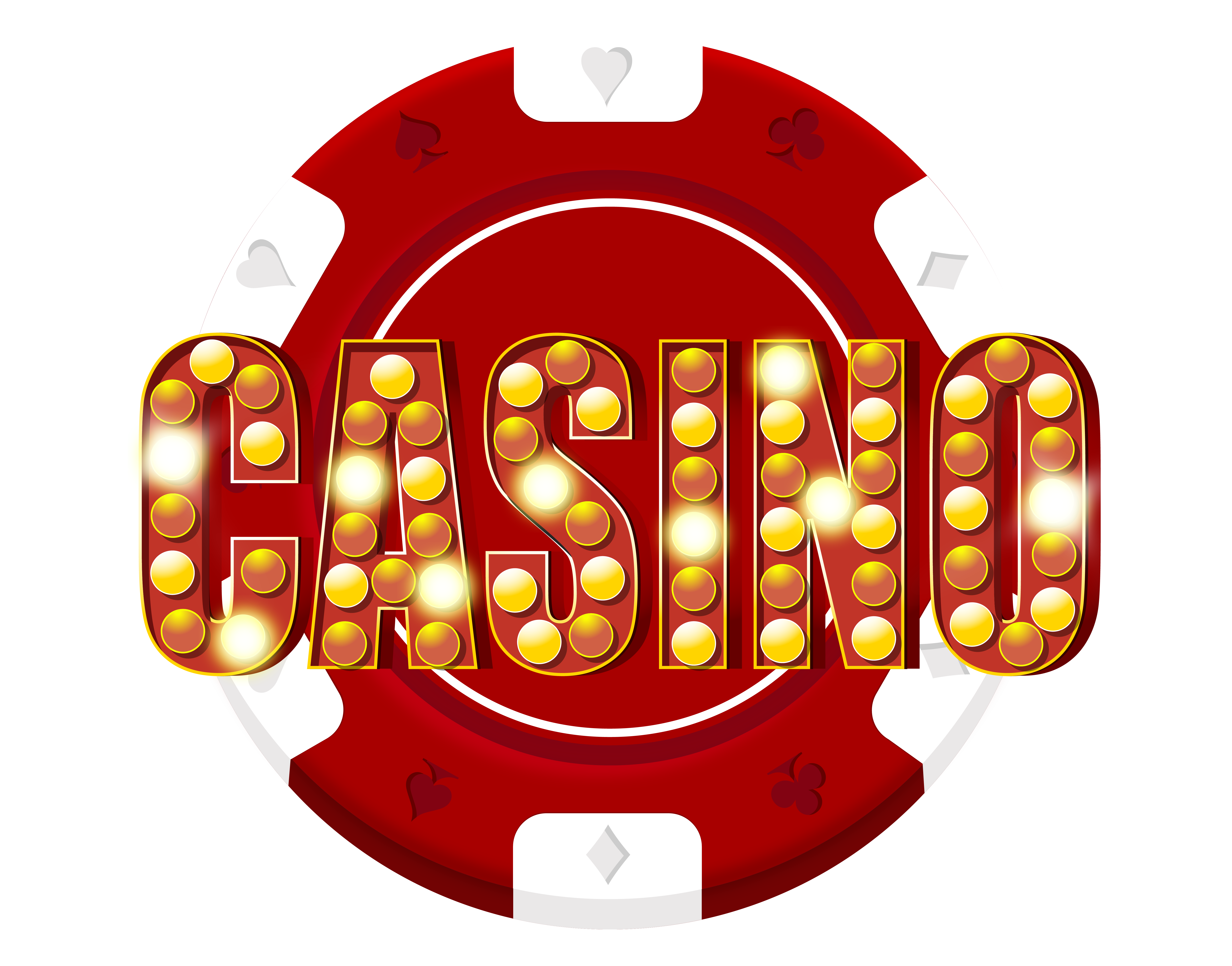 vector library stock Las vegas clipart casino royale. Red chip decoration png