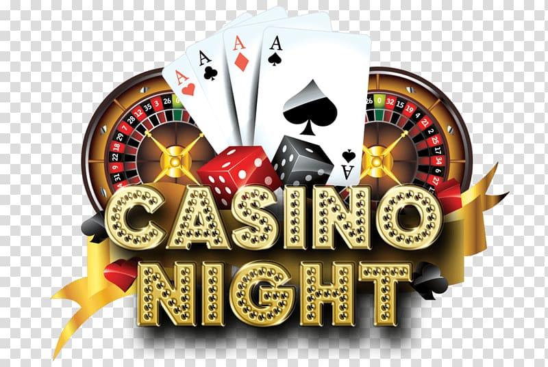 graphic free Logo transparent background . Casino night clipart