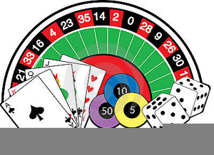 graphic black and white library Free images at clker. Casino night clipart