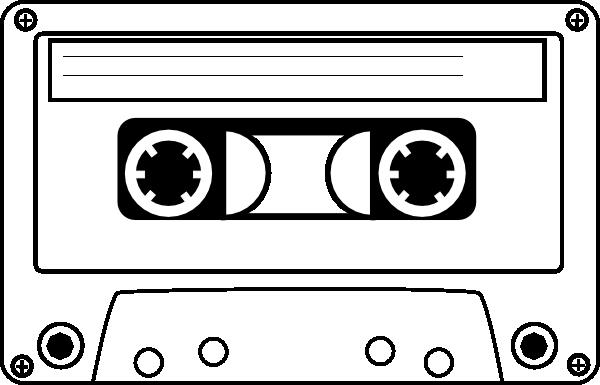 jpg transparent download Clip art at clker. Cassette clipart.