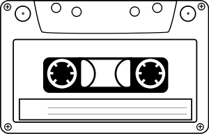 png transparent download Of tape panda free. Cassette clipart.