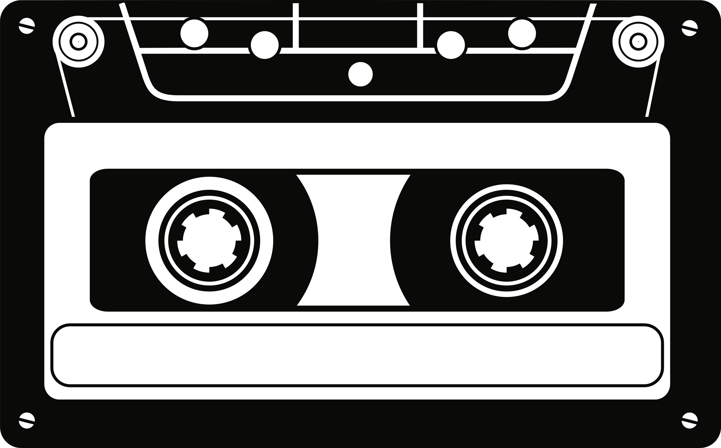 picture royalty free download Cassette clipart. Tape big image png.
