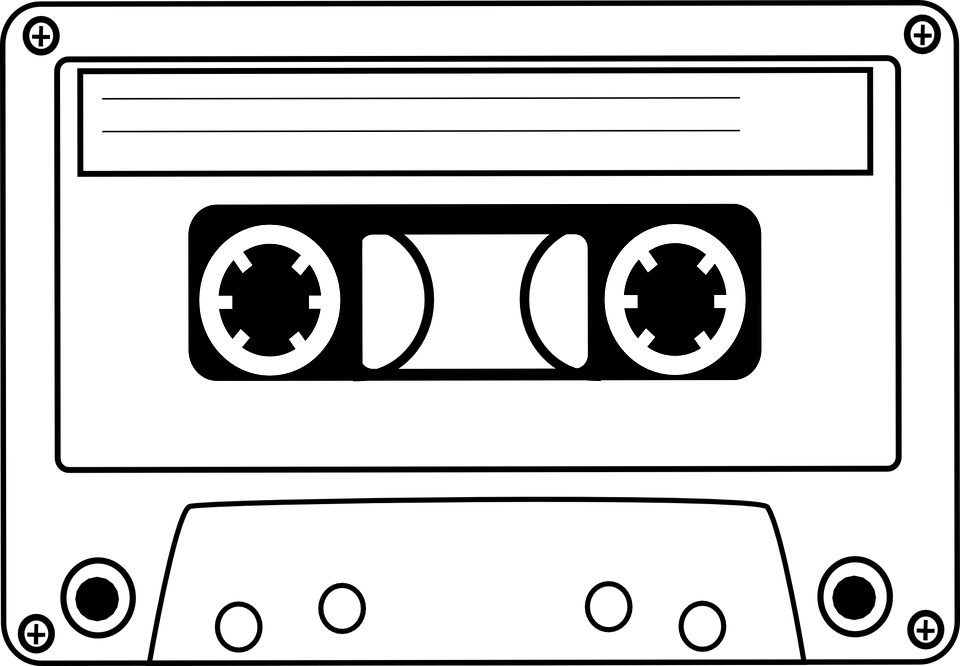 banner freeuse download Cassette clipart 80s party. Free image on pixabay.