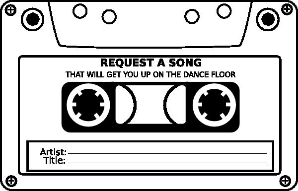 free stock Song request google zoeken. Cassette clipart 80s party.