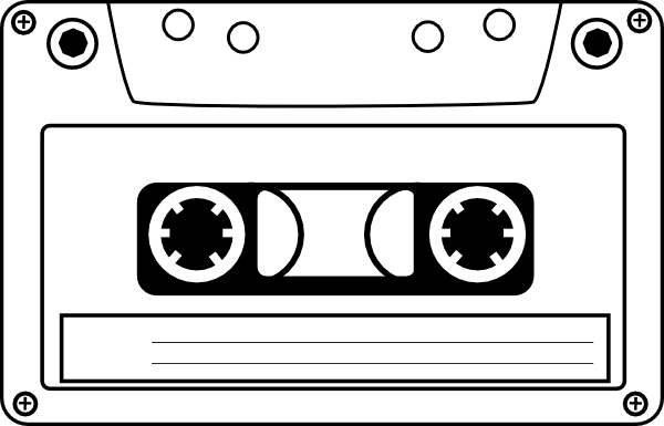 png freeuse download Cassette clipart cartoon. Tape clip art at.