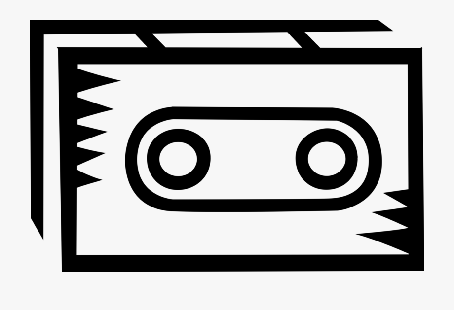 graphic Cassette clipart magnetic tape. Circle free .