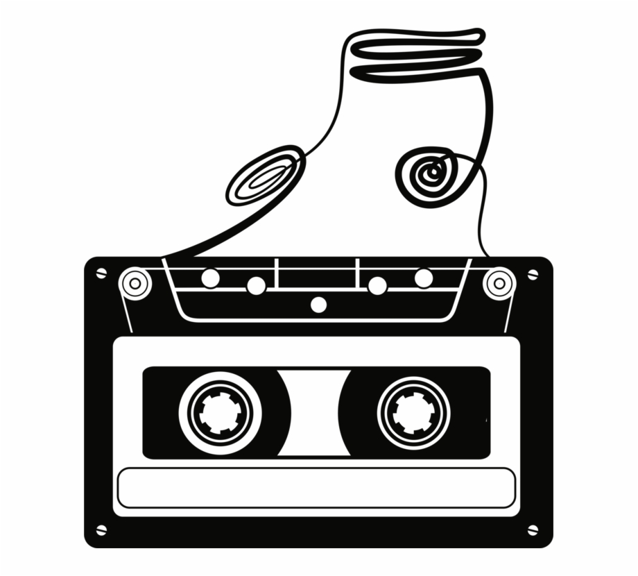 clipart Picture freeuse download compact. Cassette clipart magnetic tape.