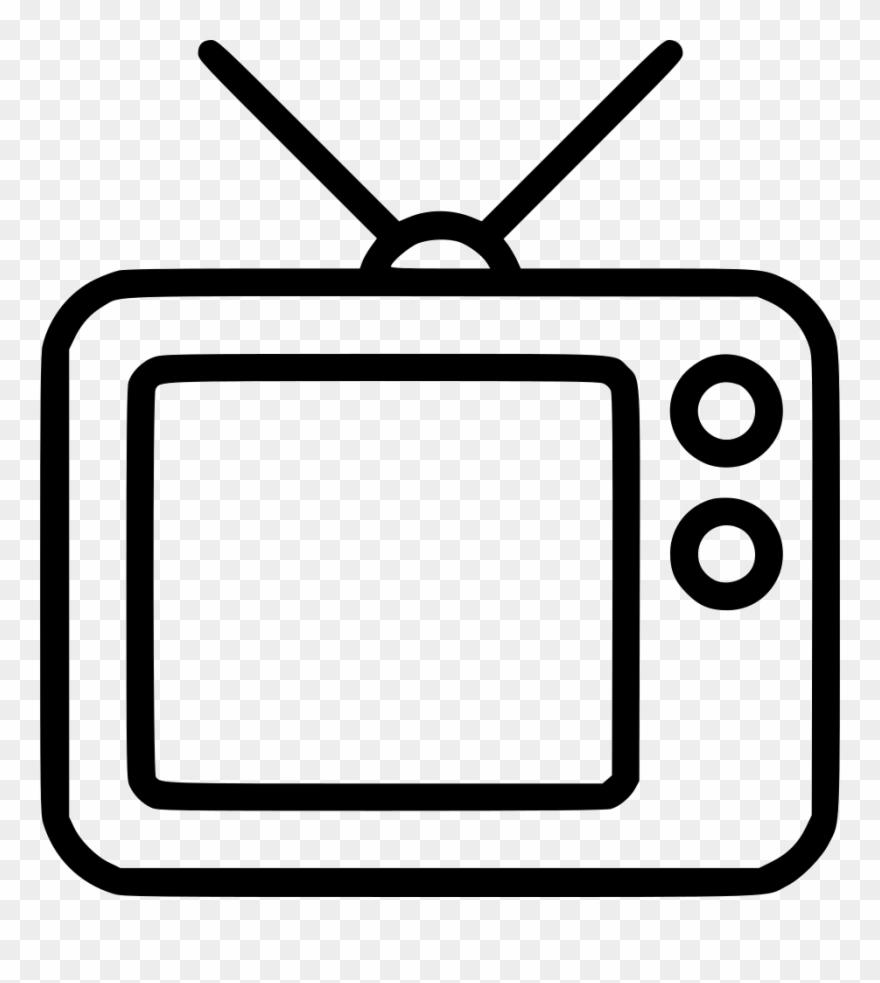 image Cassette clipart tv radio. Svg black and white.