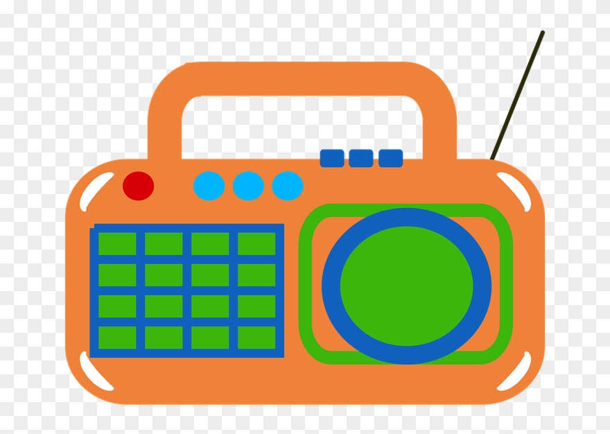 free download Image boombox yellow png. Cassette clipart tv radio.