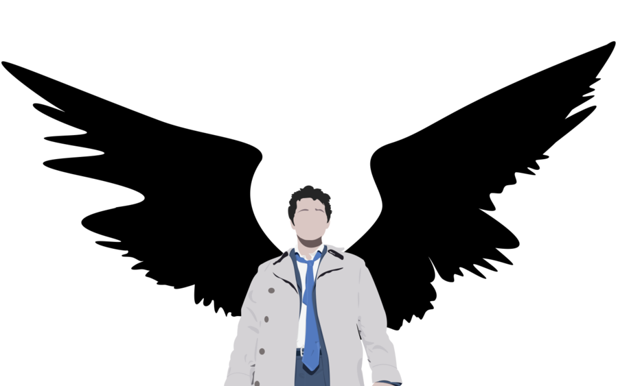 clipart royalty free stock By kunaluh on deviantart. Supernatural vector castiel