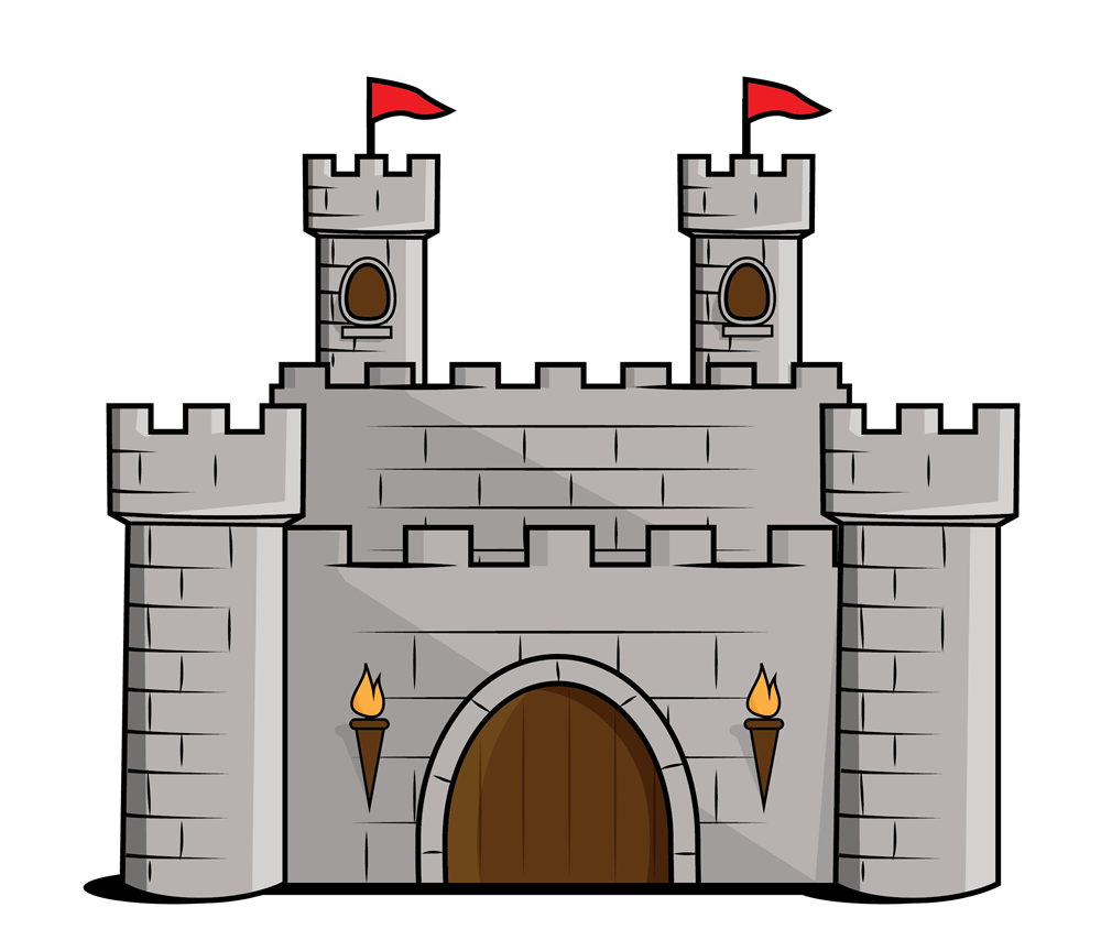transparent download Arcade clipart booth. Cartoon castle free clip.
