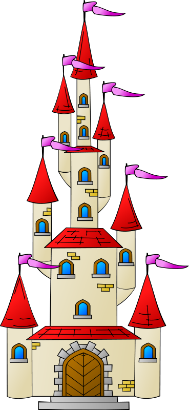 jpg freeuse Castle clipart. Free friendly looking