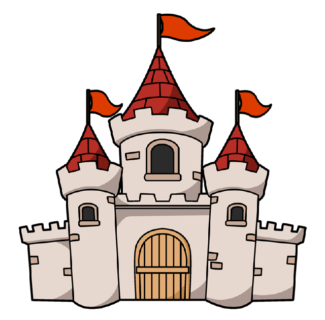 clip art transparent library Castle clipart edinburgh castle. The top best blogs.