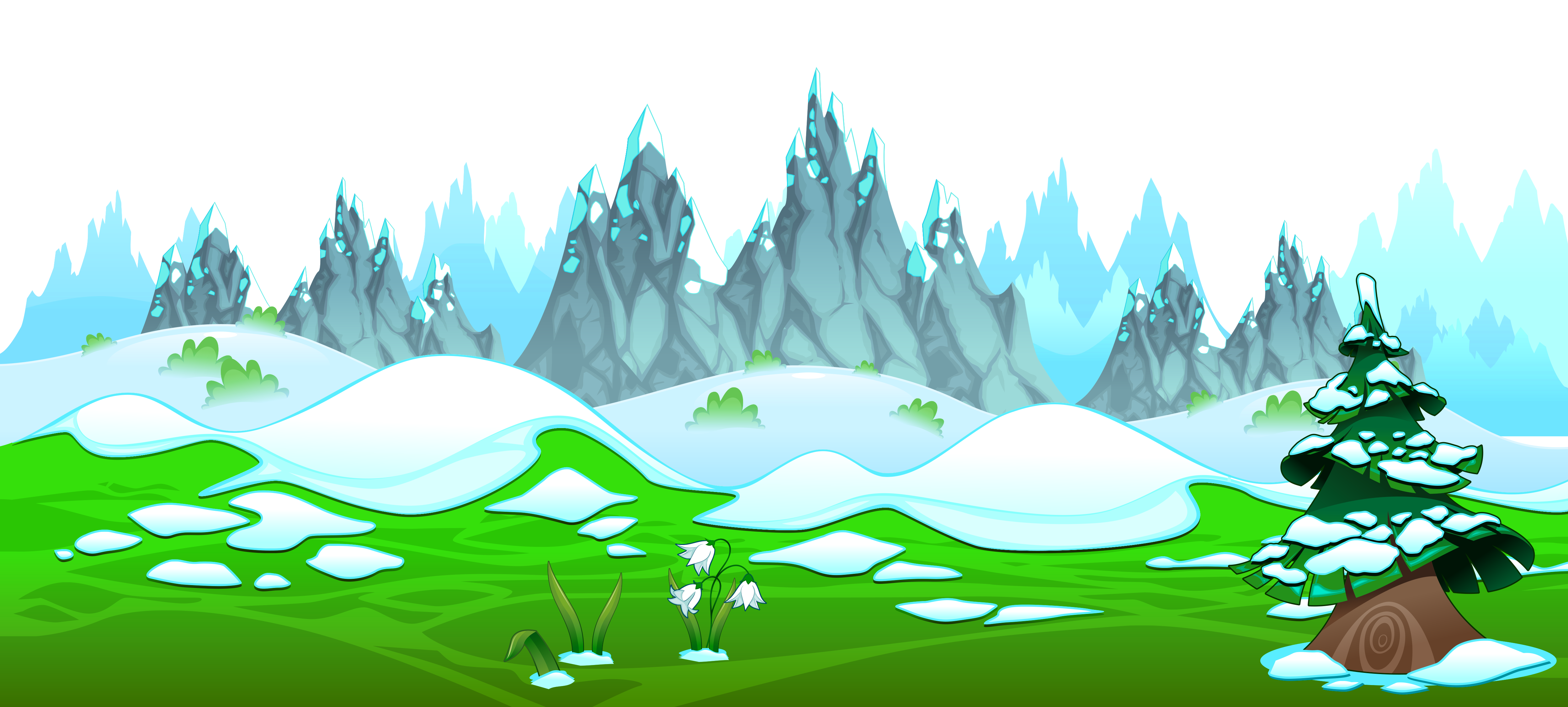 jpg Ground clipart moutains. Landscape hills free on