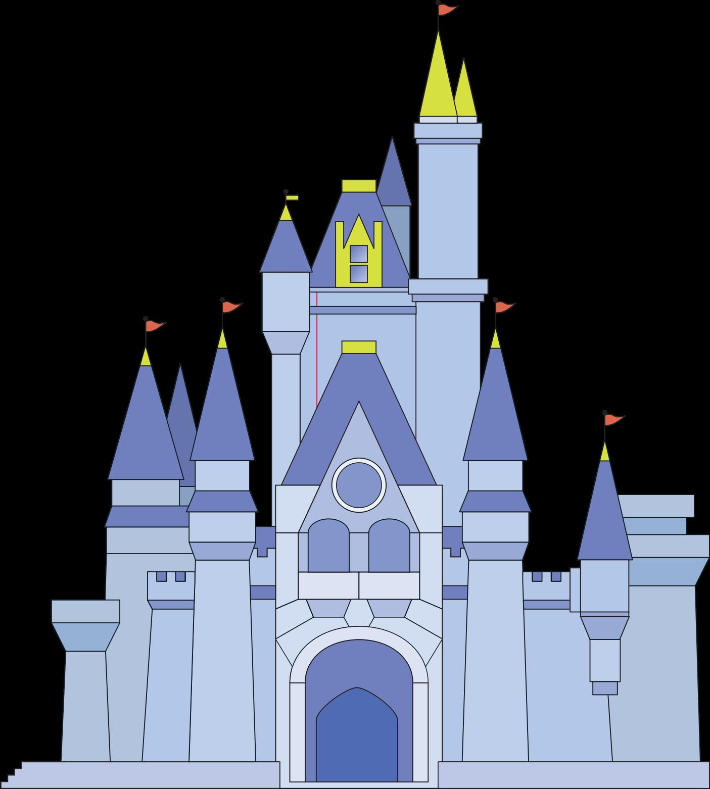 jpg royalty free stock Castle clipart mickey mouse. Magic kingdom sleeping beauty.