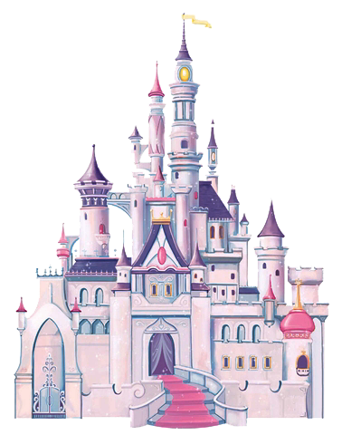 clip art transparent Castle clipart mickey mouse. Disney wall decals for