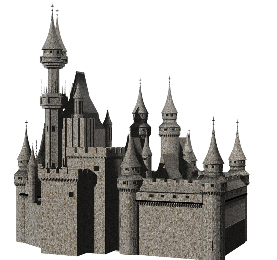 image black and white download Castle Transparent PNG Pictures
