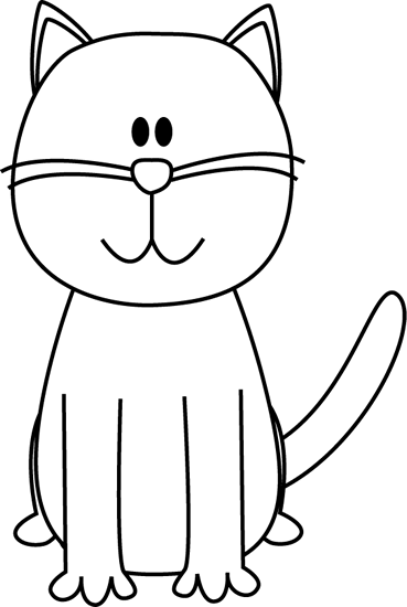 image black and white stock Cat clip art that. Black and white halo clipart