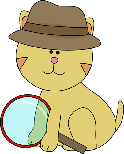png royalty free Cat clipart detective. Clip art image.