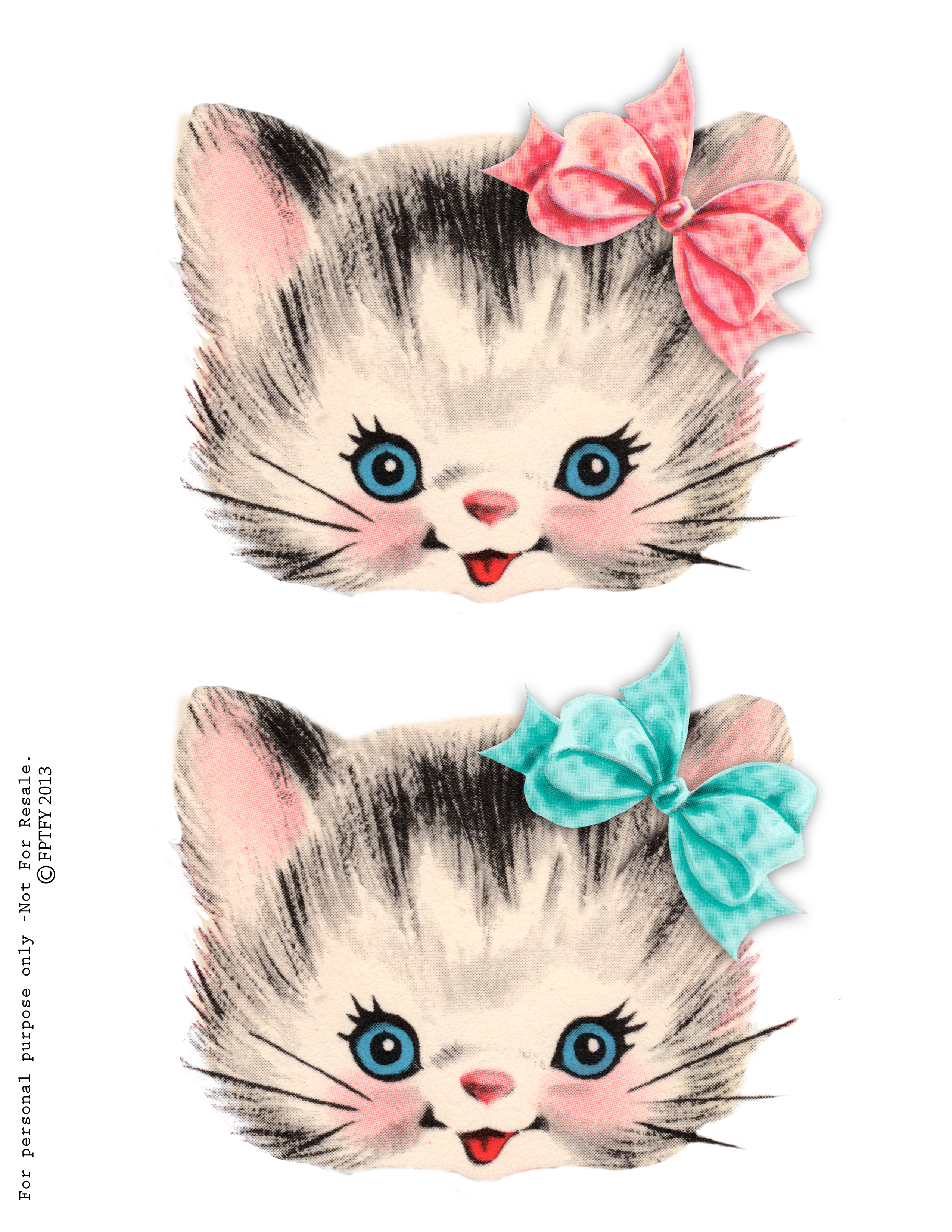 clip free stock Free clip art pinterest. Kitty clipart digital