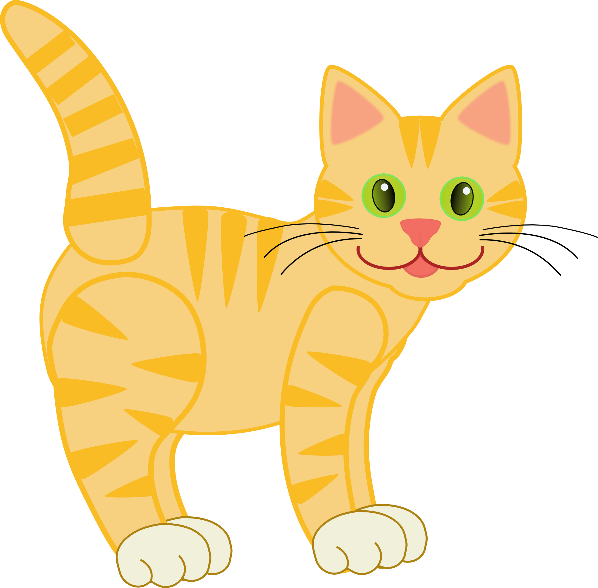 image transparent download Bored clipart cat. Clip art version yellow