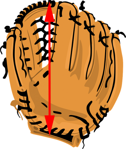 image freeuse stock Is Your Softball Glove Illegal