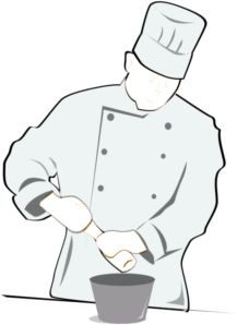 clip download Catering clipart kitchen chef. Cooking caterer free on.