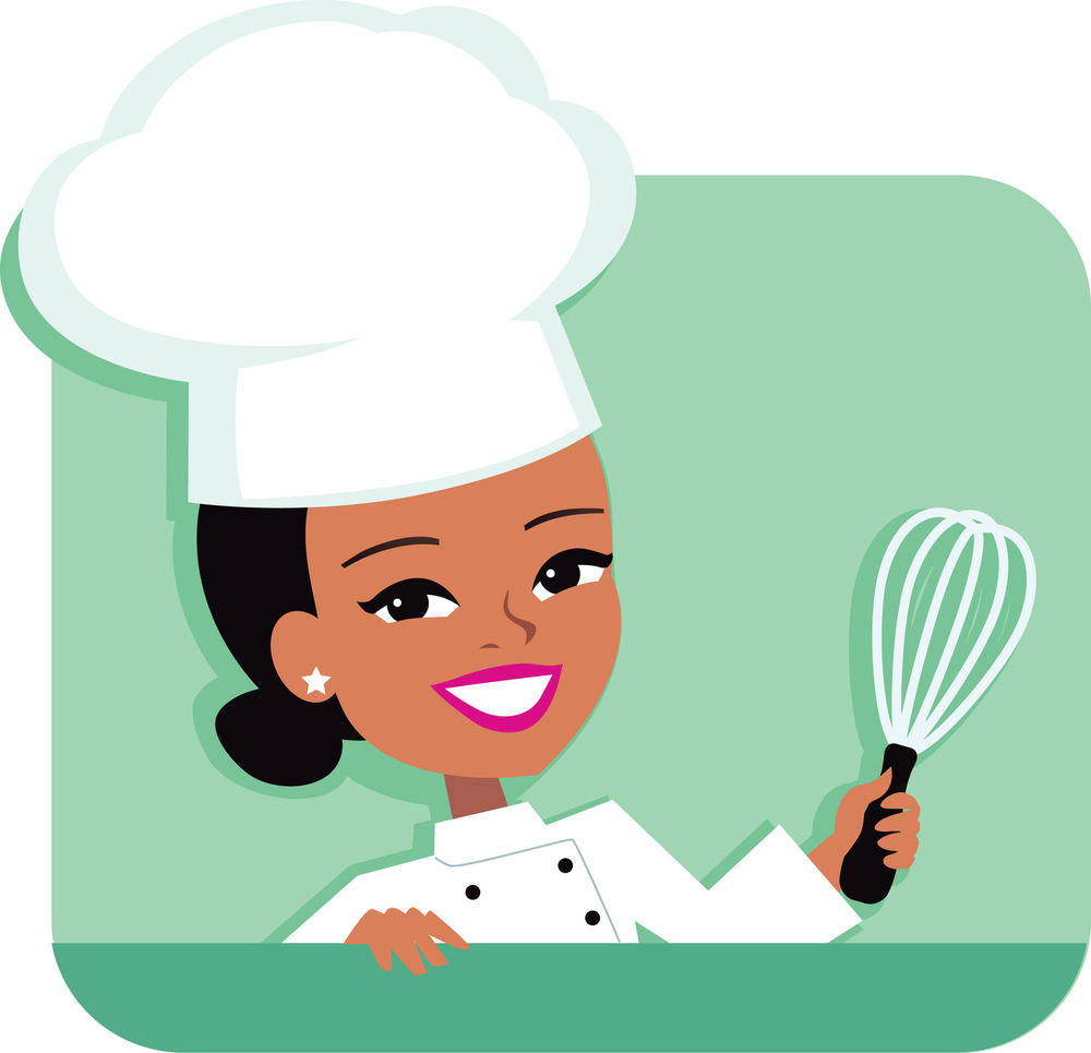 svg royalty free library Cooker transparent free . Catering clipart kitchen chef.