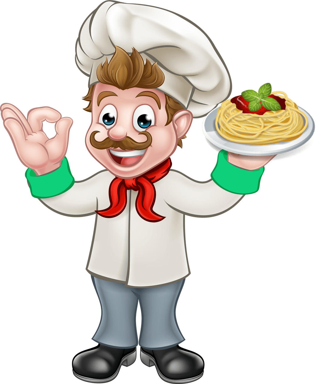 clip royalty free library Russo s pizza a. Catering clipart kitchen chef.