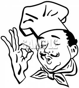 clipart black and white Catering clipart perfect sign. Transparent free for download.