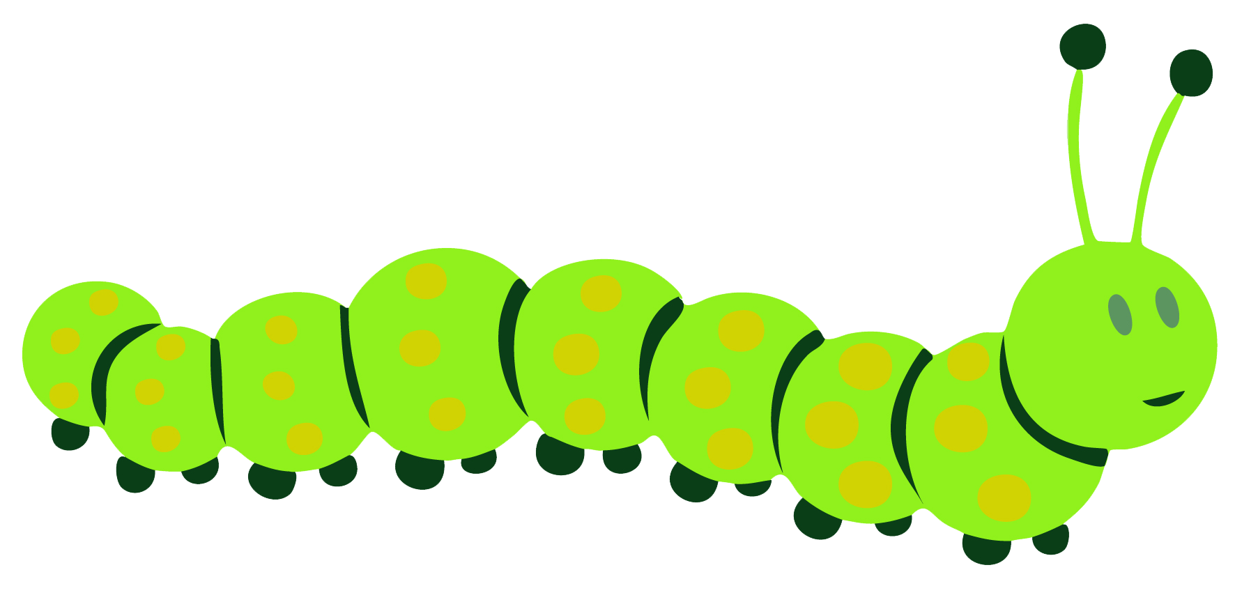 jpg transparent download Butterfly the very hungry. Caterpillar clipart