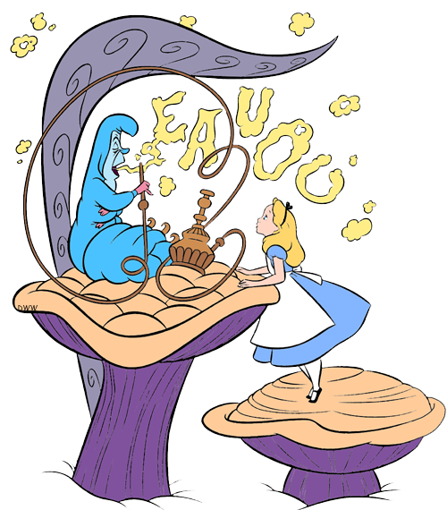clip art freeuse download Caterpillar clipart character. Alice and the clip.