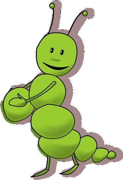 svg royalty free library Caterpillar clipart illustration. Arking clip art at.