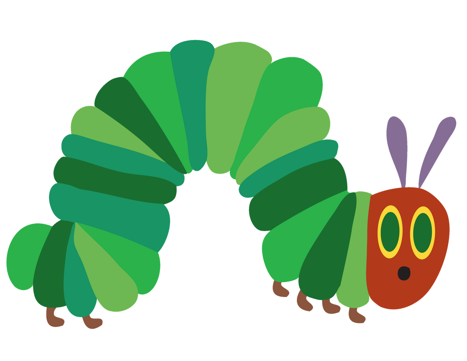 free download Inchworm Clipart butterfly caterpillar