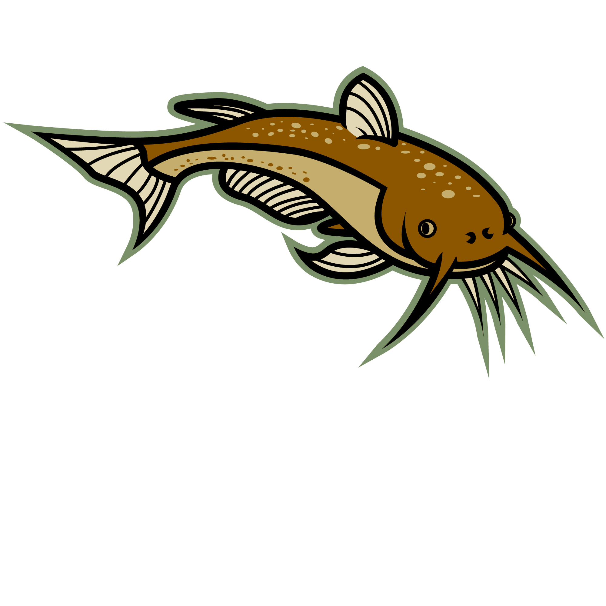 vector royalty free stock Catfish clipart. Best clip art clipartion