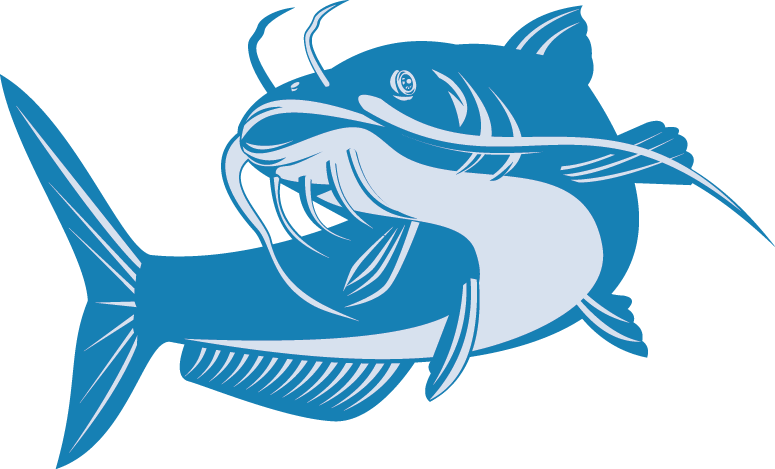 clip royalty free library catfish vector channel nebraska #91396444