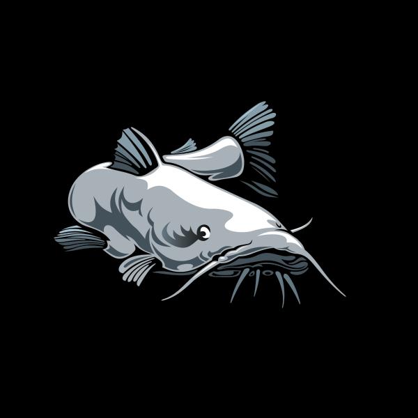 picture Printed vinyl Catfish