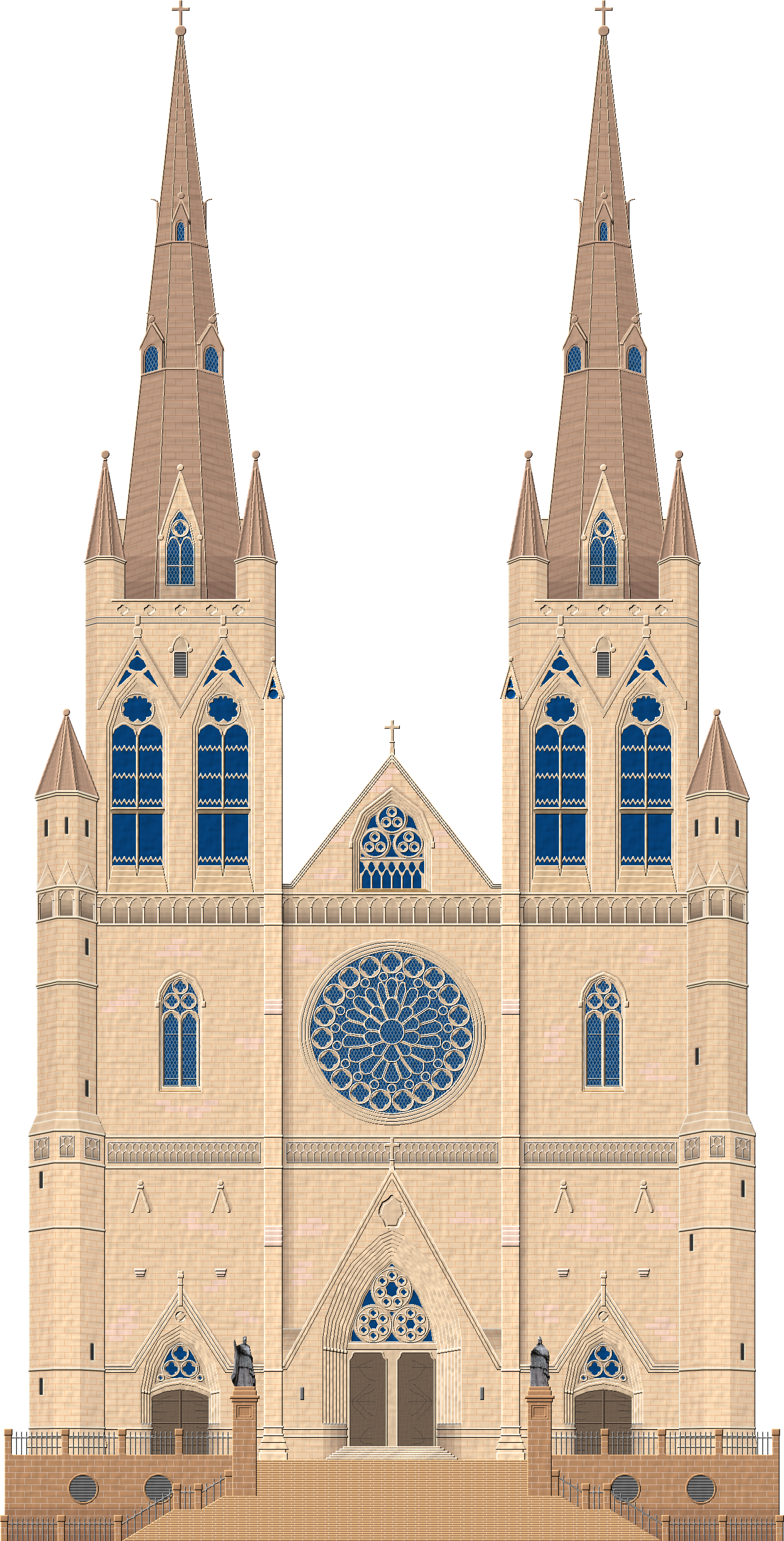 clip freeuse download Cathedral Building Church Drawing Architecture