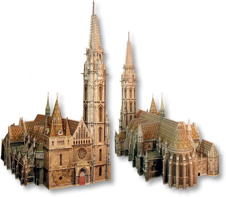 clipart library stock cathedral drawing gothic spire #91401969