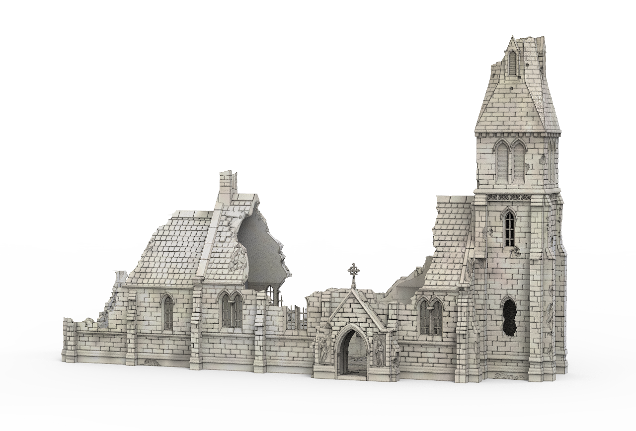 picture freeuse download Medieval Church Ruin