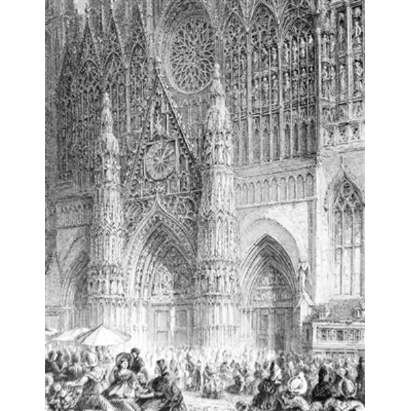 clip art transparent library Rouen Cathedral