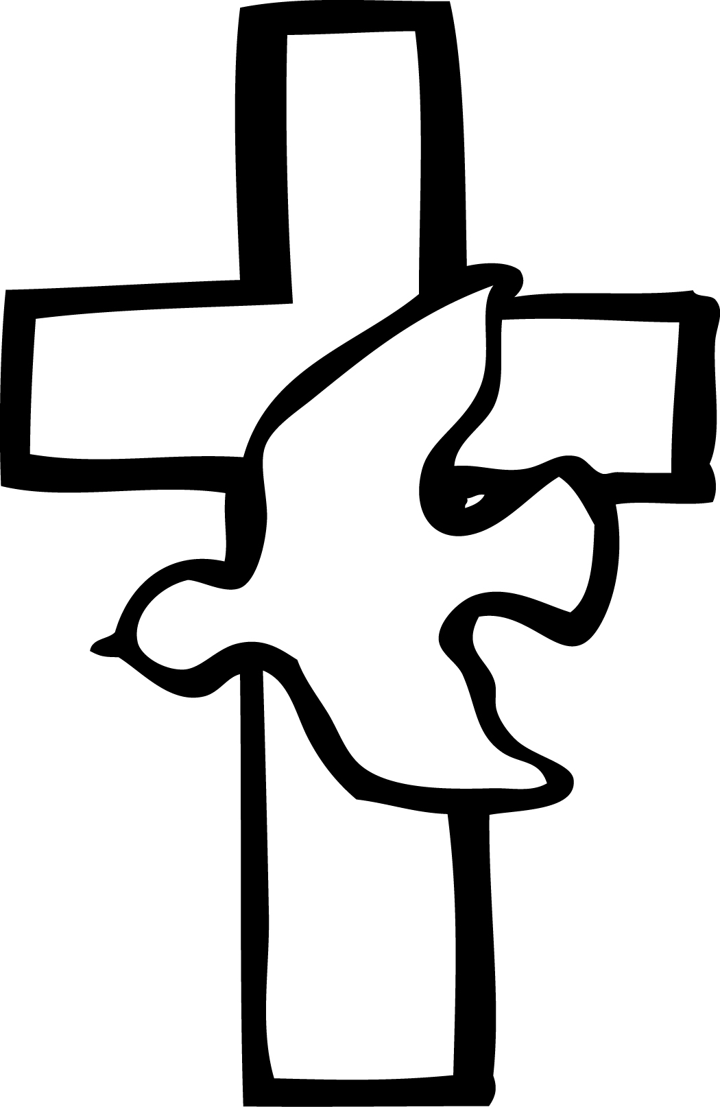 black and white download Free cliparts download clip. Catholic clipart