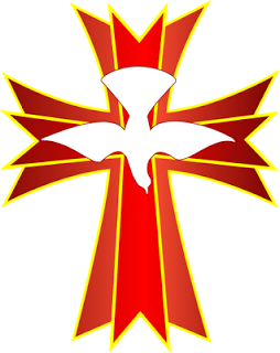 vector freeuse download Maundy clipart spiritual wellness. Holy spirit cross clip.
