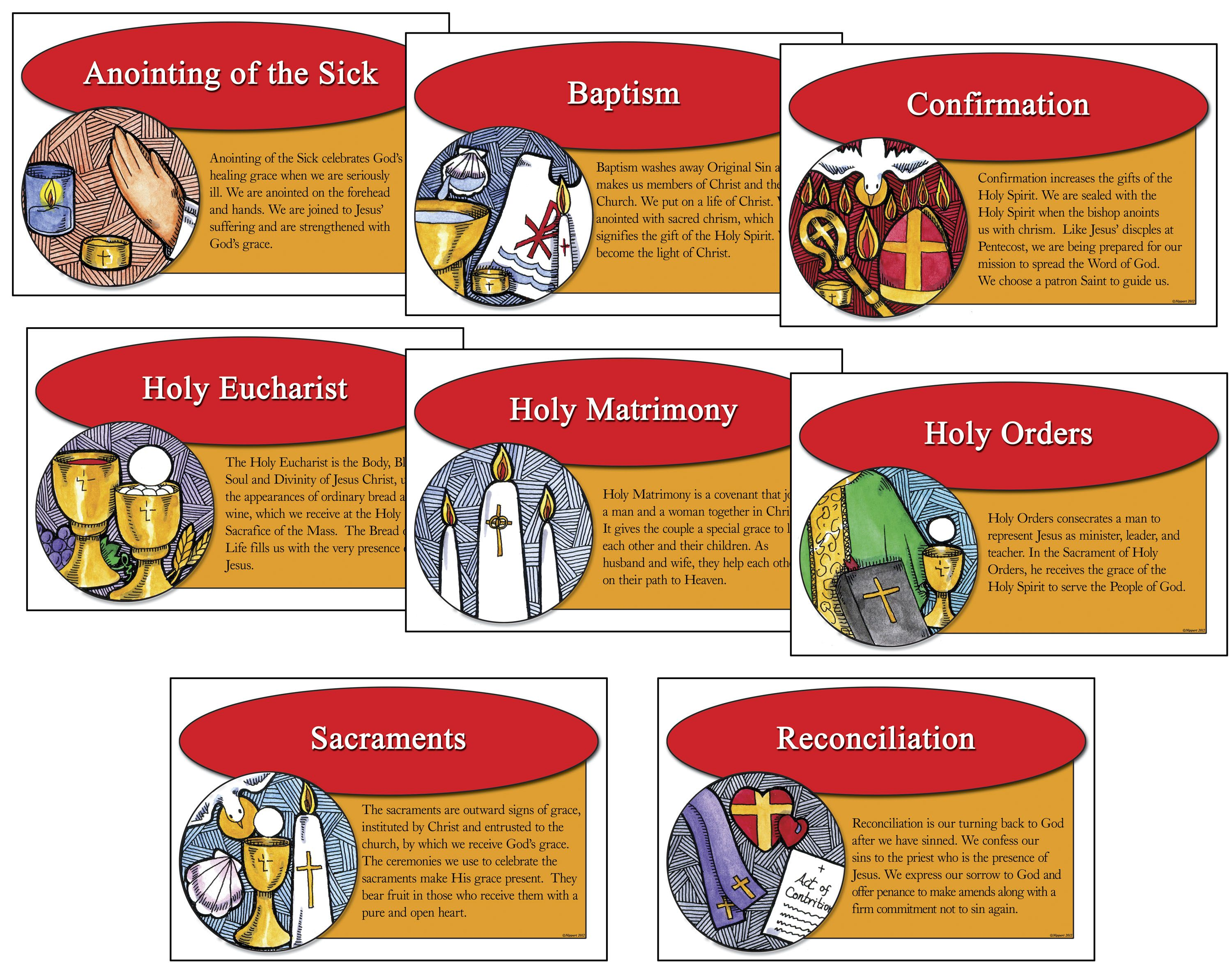 svg freeuse library Catholic clipart sacraments. Pin on ccd .