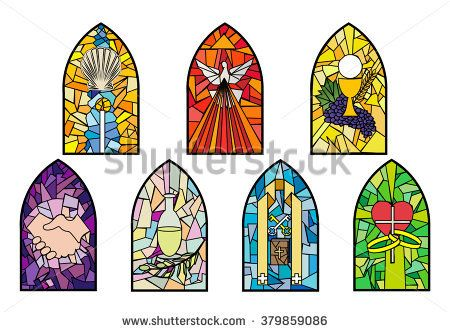 image transparent Catholic clipart stained glass. Pin on ccd .